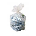 500 Sacs à déchets transparents 30 L