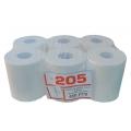 Ouate blanche 450 F dévidage central 20x35 2 plis (1x6rlx)P45