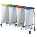Chariot Dust lingerie 4 sacs chrome + couvercle