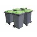 poubelle 140 litres