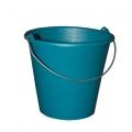 Seau 10 litres droit industriel bleu